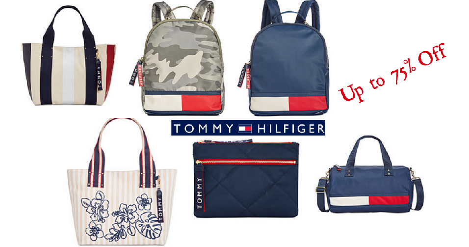 587e597692f68c Macy's is offering up to 75% off Tommy Hilfiger Handbags & Accessories! You  can also get 30% off on marked items with code VIP at checkout.