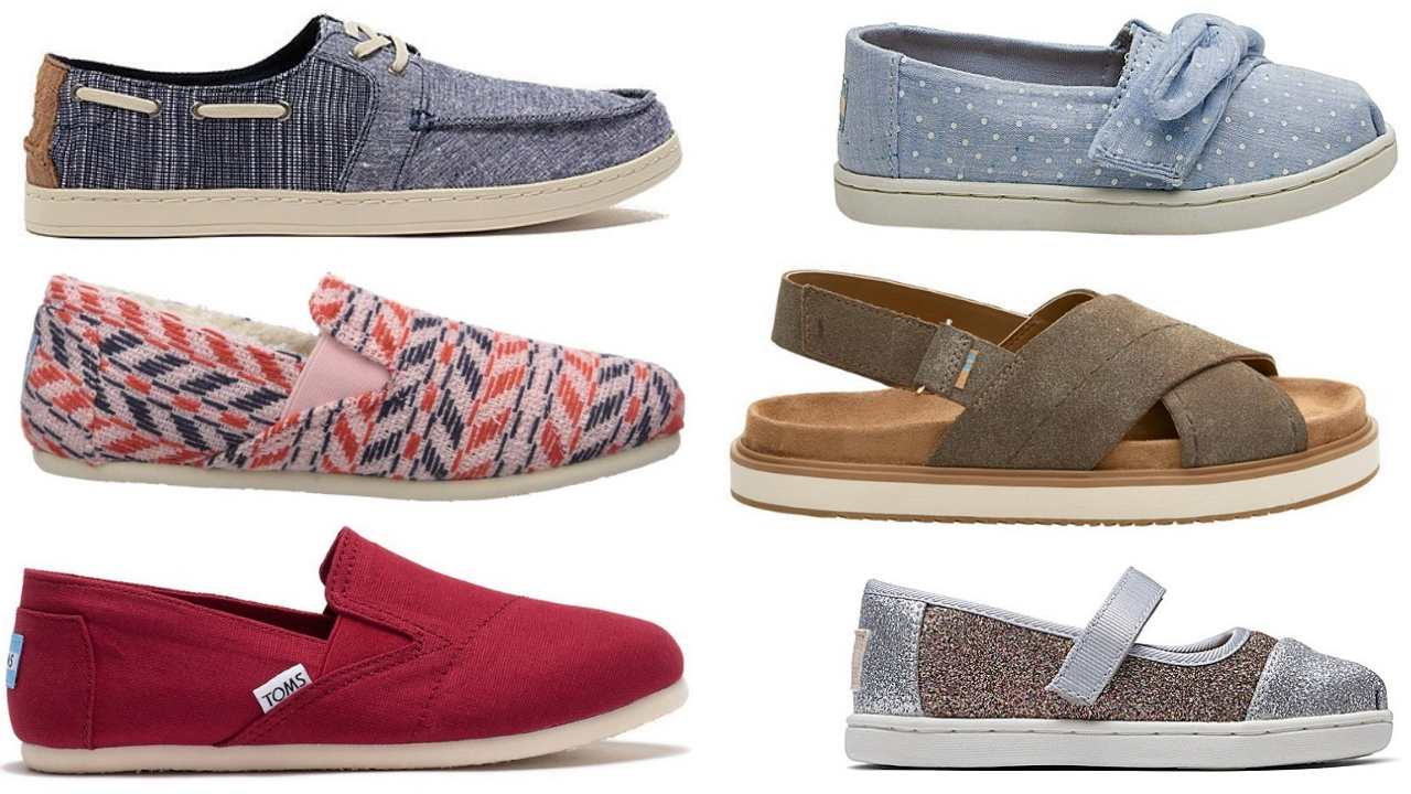 Zulily Toms Shoes Sale: Starting at $16