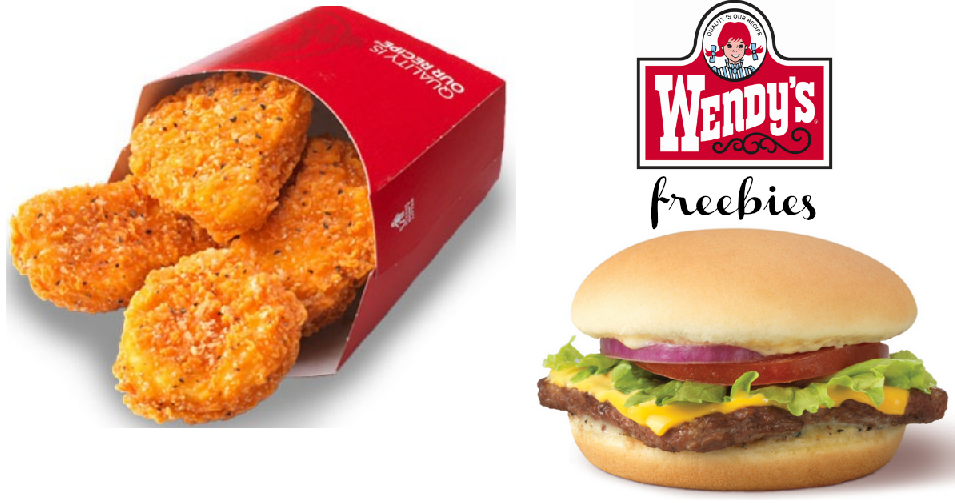 Wendy's App | Free 4-Piece Chicken Nuggets :: Southern Savers