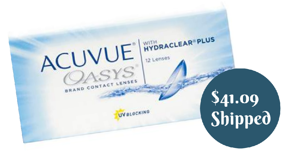 9388e03281f Acuvue Oasys 12-Pack Contacts for  41.09 Shipped    Southern Savers