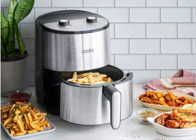 cooks stainless steel air fryer