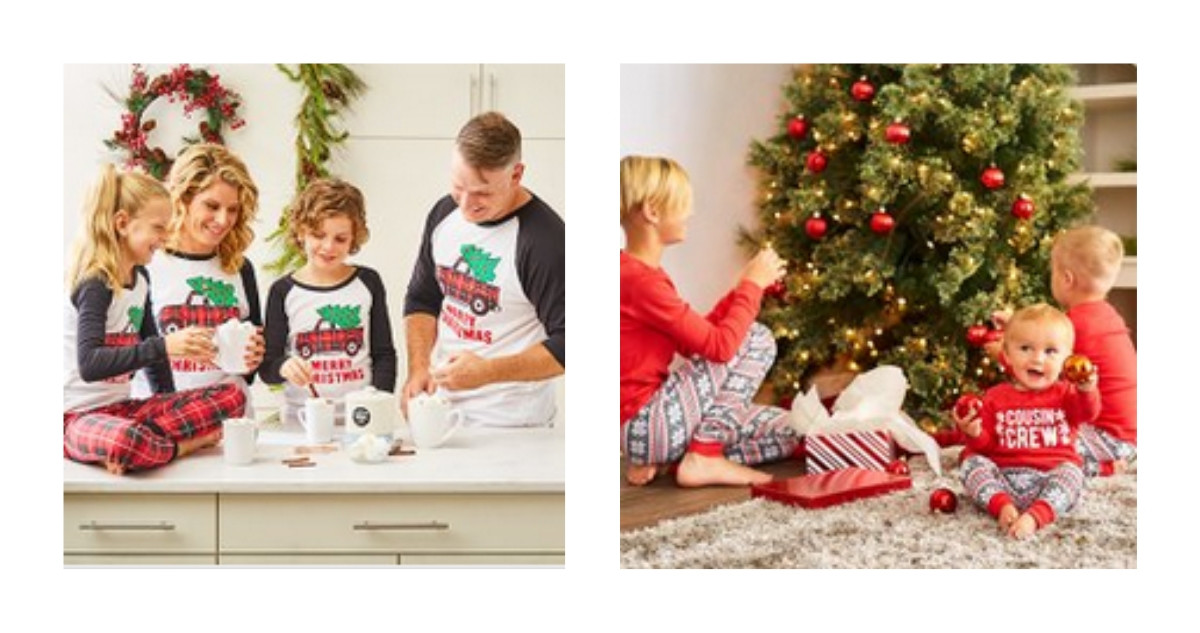 Matching Family Christmas Pajamas.Zulily Matching Family Christmas Pajamas Southern Savers