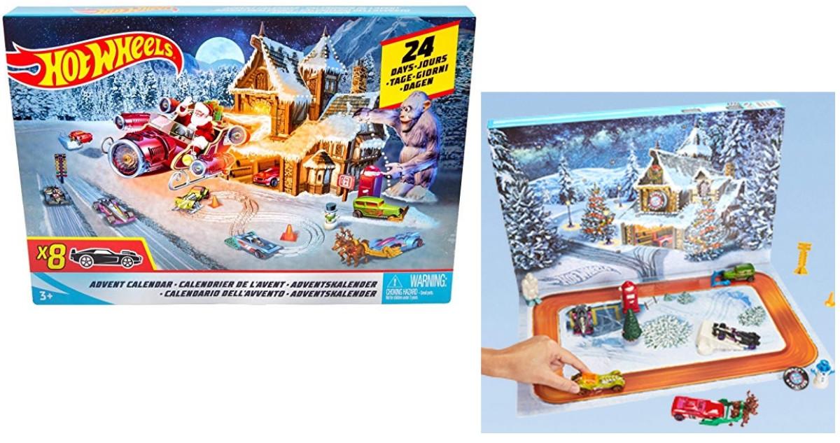 Weihnachtskalender Hot Wheels.Hot Wheels Advent Calendar For 19 99 Southern Savers