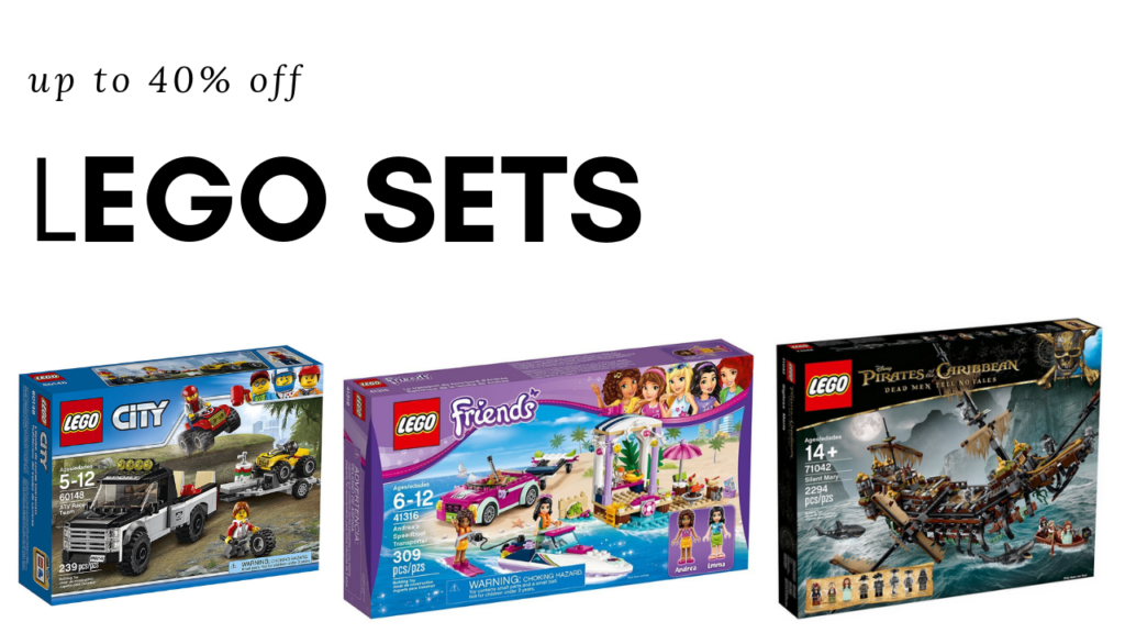 If Legos Are On Your Ping List You In Luck Can Get Various Lego Sets For Up To 40 Off