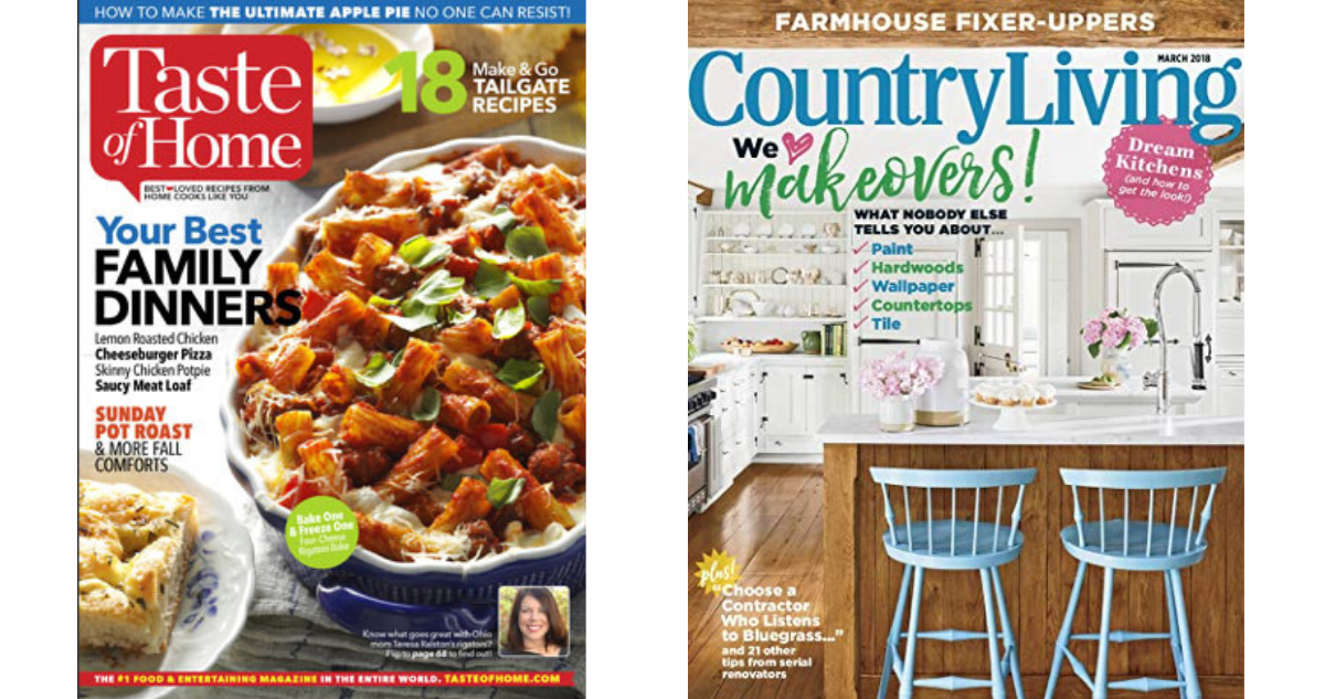 "Exclusive ""package deals"" – get 2 magazines for $24, 3 for $30 or 4 for $35! Experienced and knowledgeable 24/7 customer service ready to help you place an order or ."