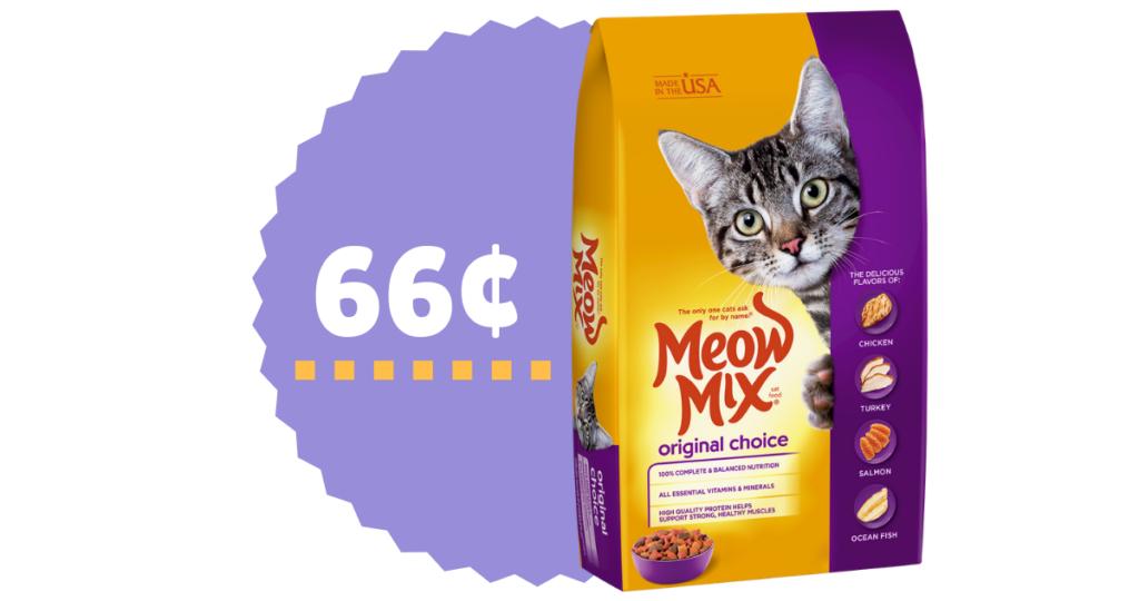 Meow Mix Cat Food 66 Per Bag At Food Lion Southern Savers