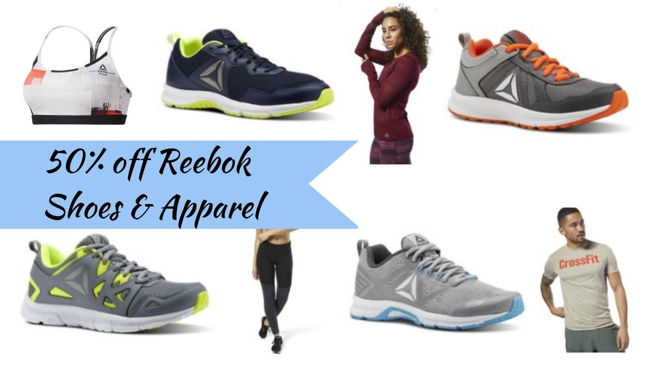 ab79c29d8aaa Reebok is offering 50% off a large selection of shoes and clothes all  weekend with coupon code FALL at ...