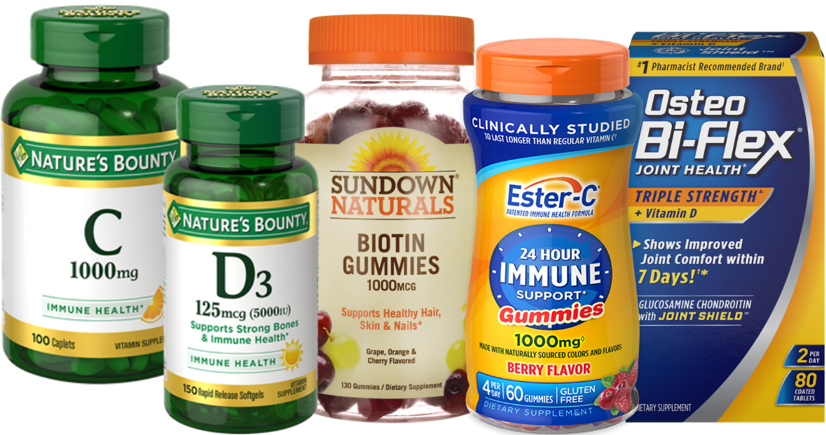 graphic relating to Nature's Bounty Printable Coupon named Vitamin Discount coupons Natures Bounty, Sundown Naturals Further