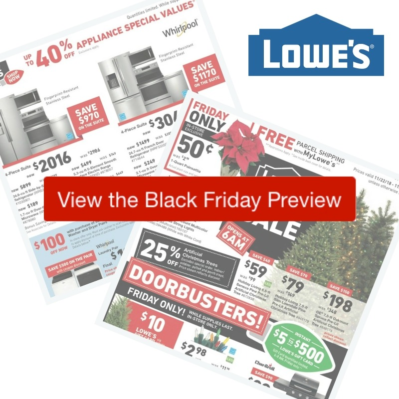 2018 Lowes Black Friday Ad :: Southern Savers