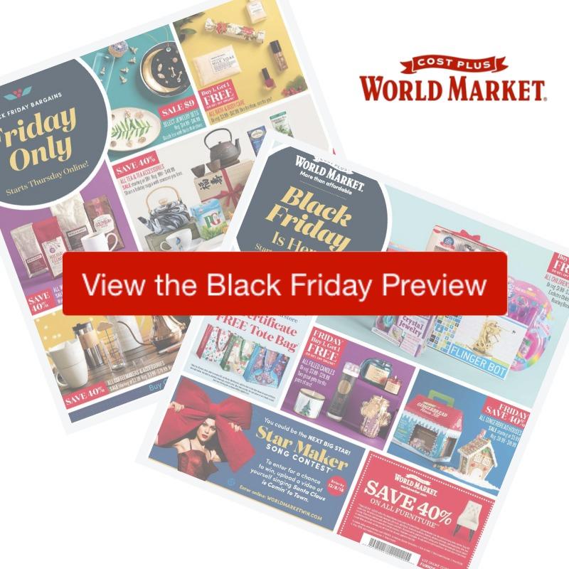 2018 world market black friday ad southern savers. Black Bedroom Furniture Sets. Home Design Ideas