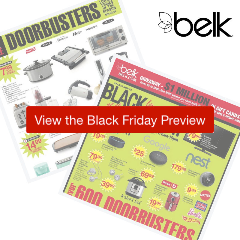 2018 Belk Black Friday Ad :: Southern