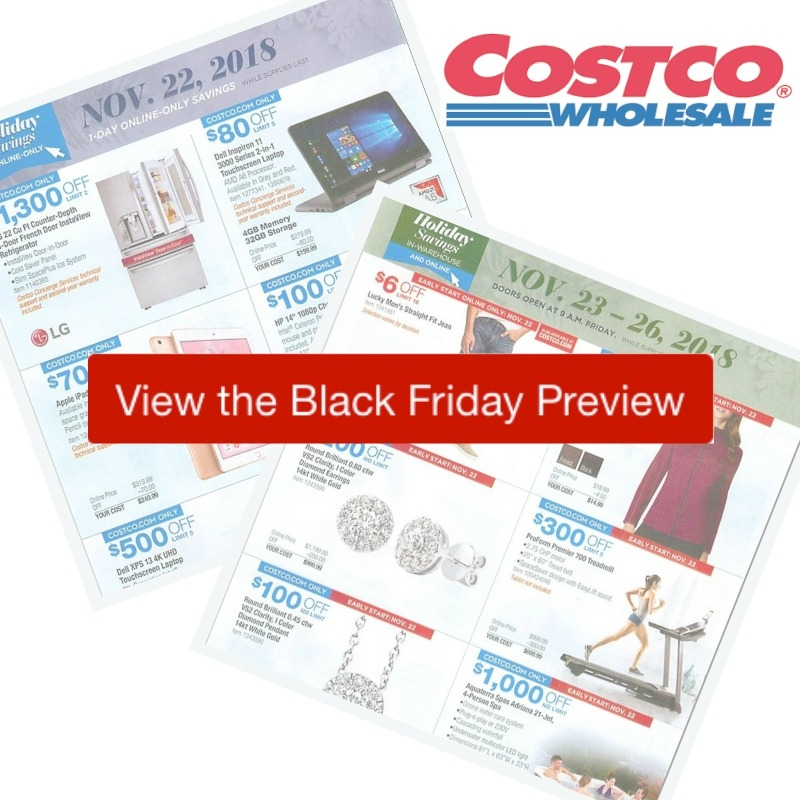 2018 costco black friday ad preview southern savers. Black Bedroom Furniture Sets. Home Design Ideas