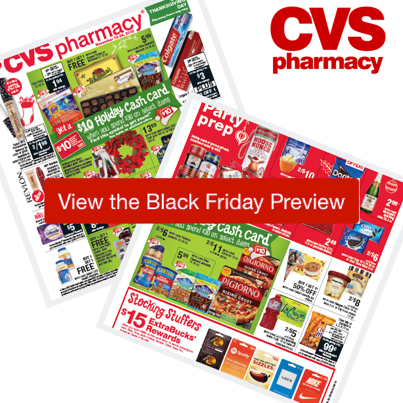 2018 CVS Black Friday Ad