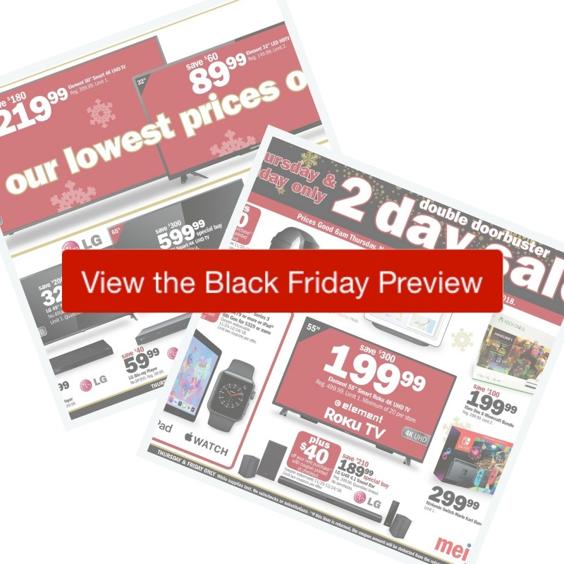 eb6643aeba883 Here are all the deals in the 2018 Meijer Black Friday Ad. Doors open  Thursday morning at 6am and doorbuster deals run through Friday night.