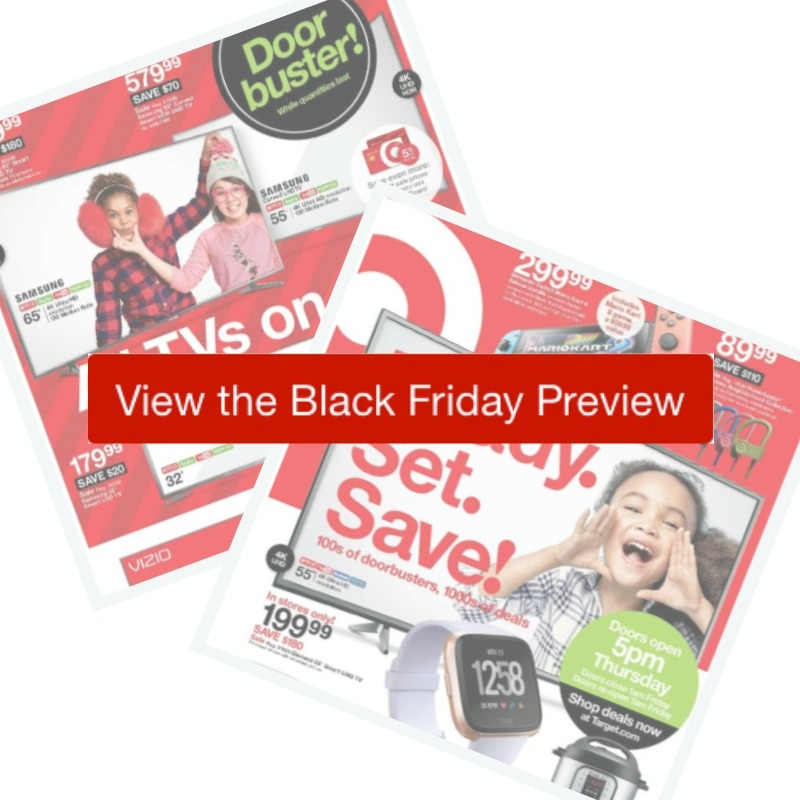 6dca03295 Here are all the deals in the 2018 Target Black Friday Ad! Make a shopping  list, or browse through the ad scan at the bottom of the page (you can even  shop ...
