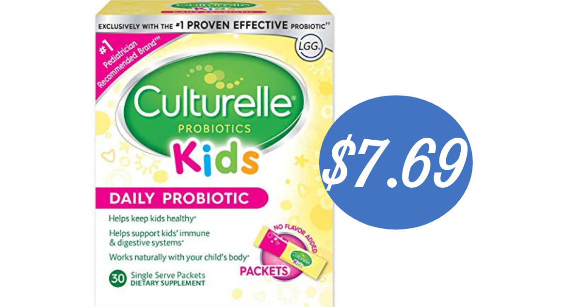image relating to Culturelle Coupon Printable identify Culturelle Coupon Tends to make Small children Probiotics $7.69 (reg. $18.69