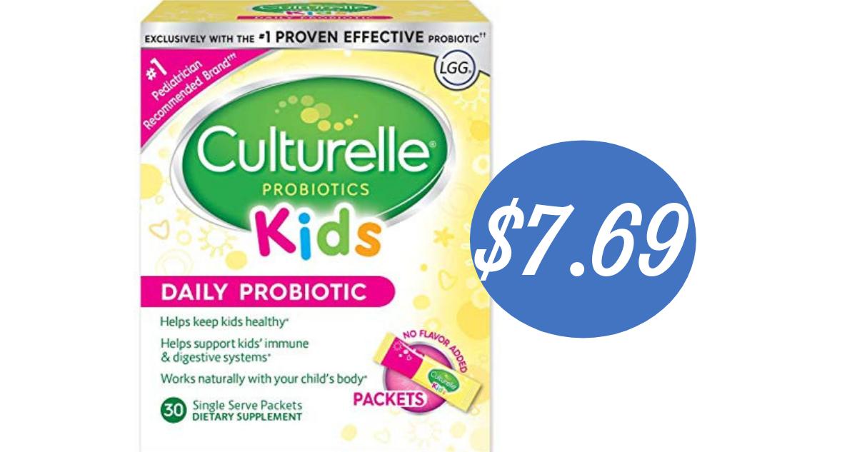 Culturelle Coupon Makes Kids Probiotics 7 69 Reg 18 69 Southern Savers