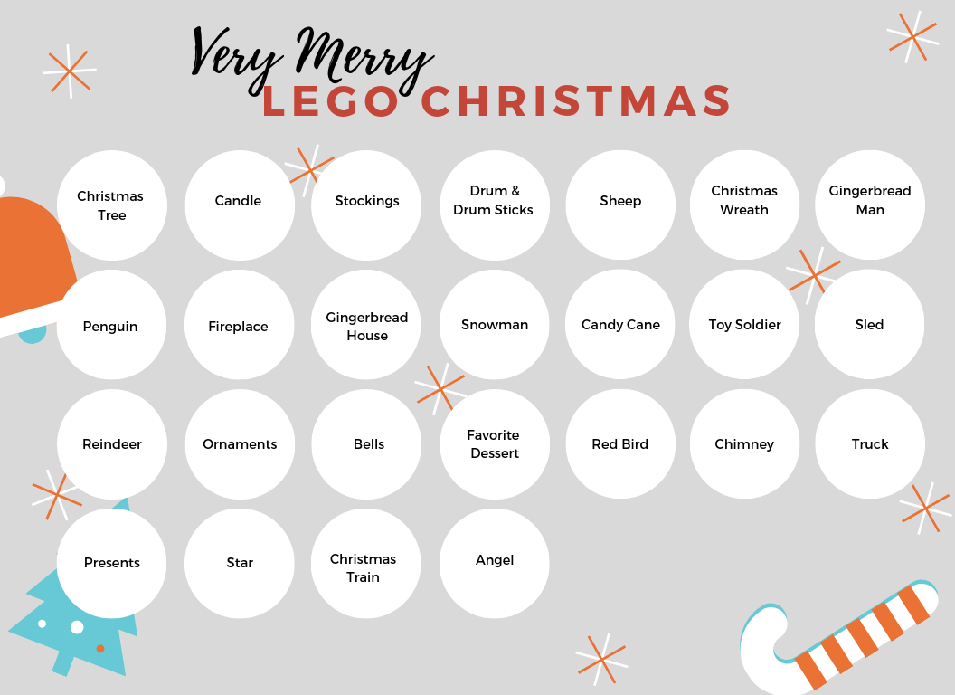 graphic relating to Advent Calendar Printable named Do-it-yourself Lego Arrival Calendar Printable! :: Southern Savers