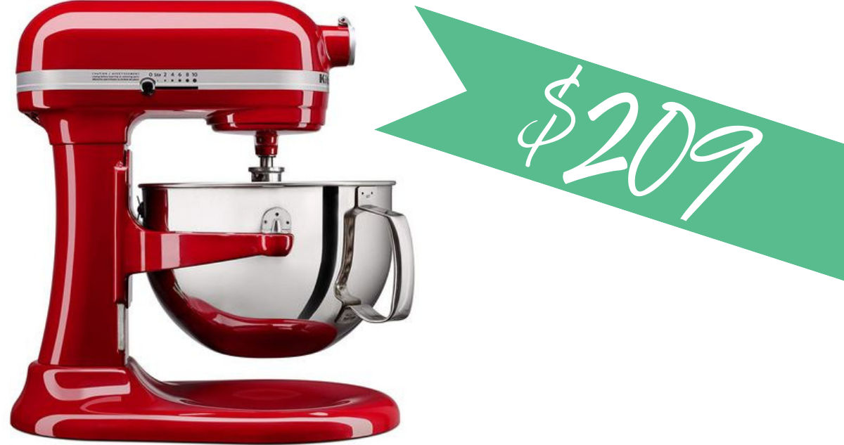 Deal Kitchenaid Stand Mixer For 209 Shipped Today Only