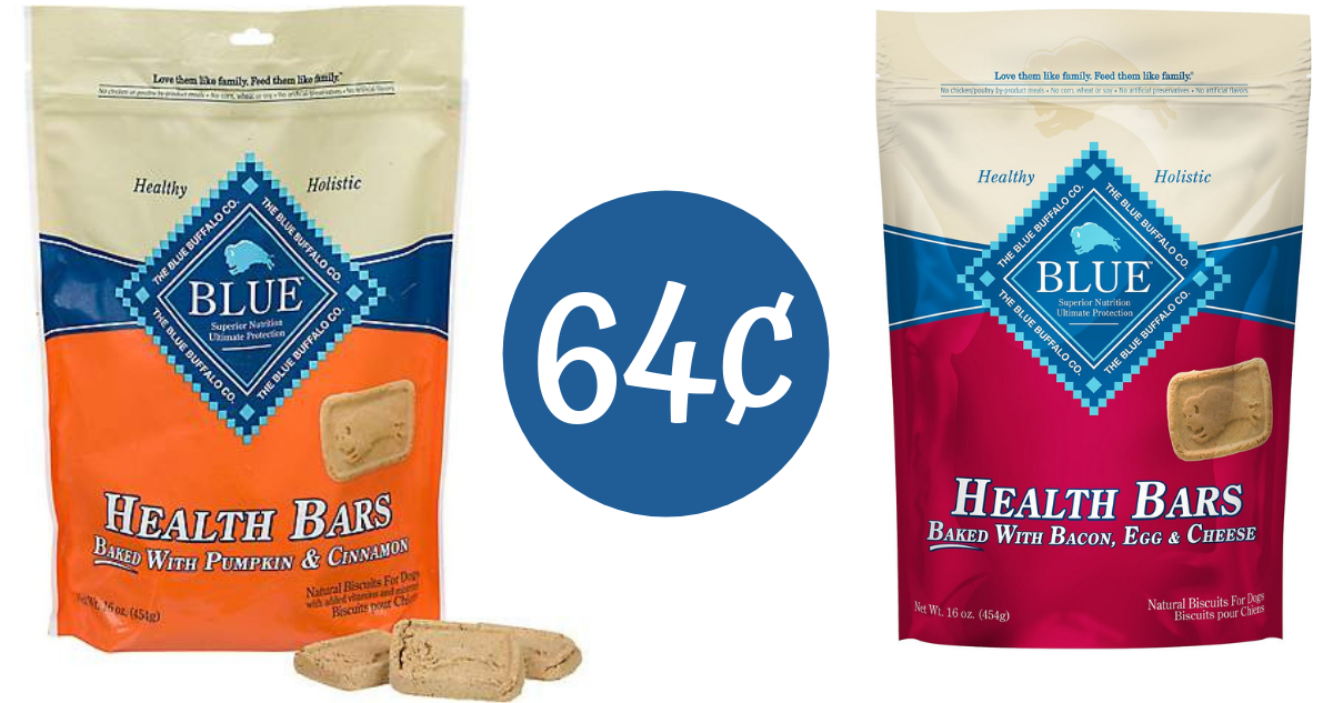 image relating to Blue Buffalo Dog Food Coupons Printable named Blue Buffalo Coupon Would make Pet Snacks 64¢ :: Southern Savers