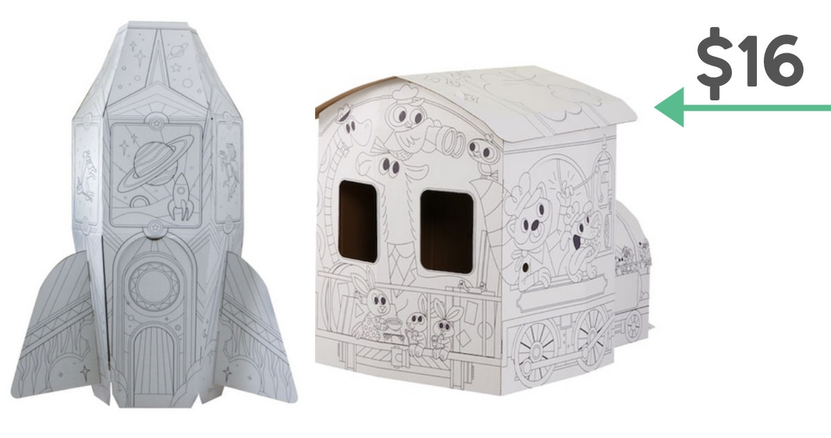 color-in playhouses