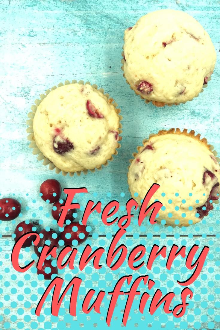 cranberry muffins pinterest