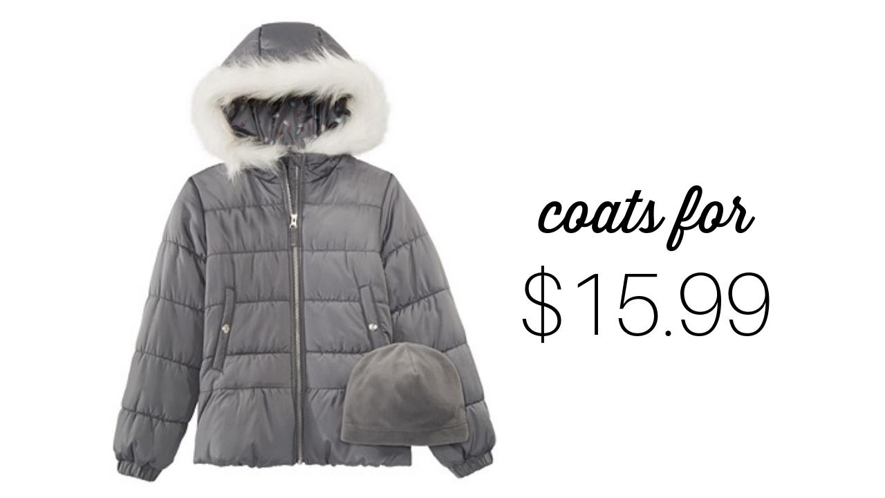 Macy's Deal | Kids' Winter Coats, $15.99 :: Southern Savers