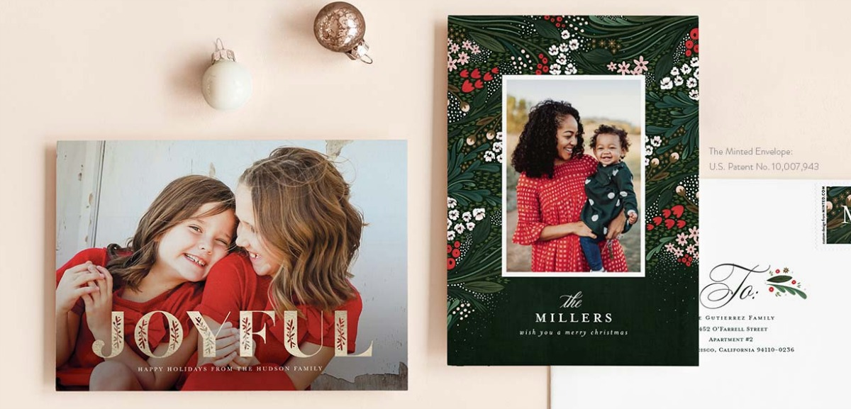 Minted Christmas Cards.Minted Com 25 Off Christmas Cards Free Shipping