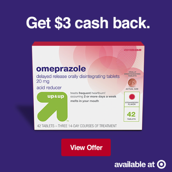 Save 3 Off New Up Up Omeprazole Odt 11 99 For 42 Ct