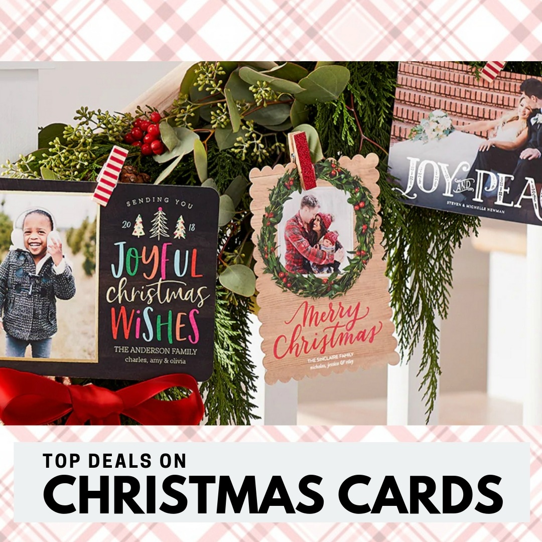 Top Christmas Card Deals: 60% off + Free Shipping! :: Southern Savers
