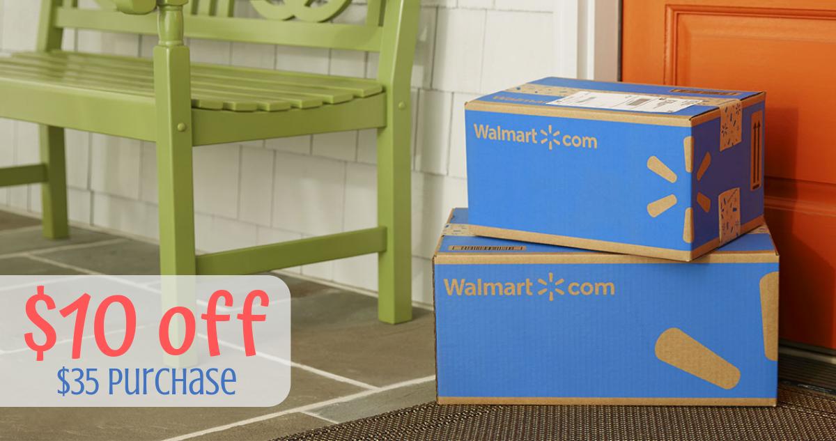 Walmart Coupon Code 10 Off A 35 Order Southern Savers