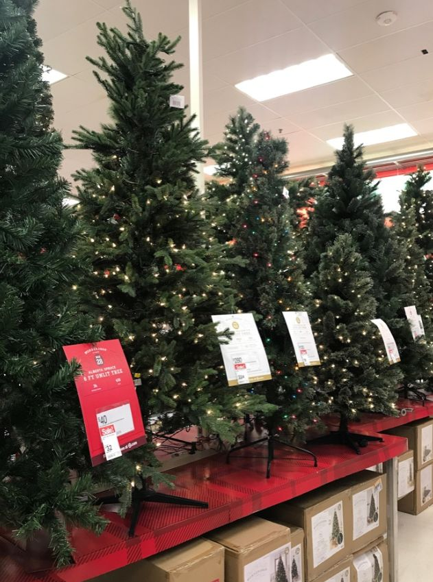 Target: Christmas Trees 50% off + Extra
