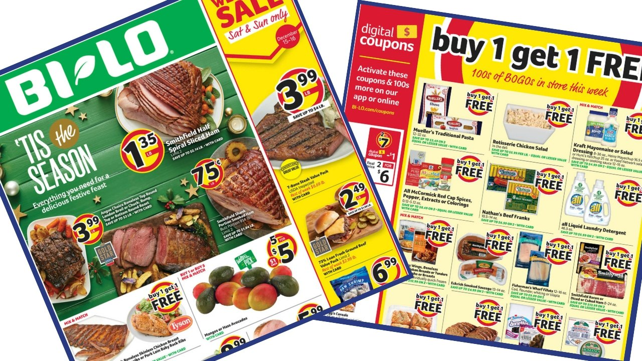 Bi Lo Weekly Ad 12 12 12 18 Southern Savers