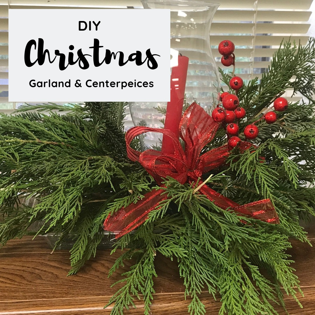 Free DIY Christmas Garland, Wreaths, & Centerpieces