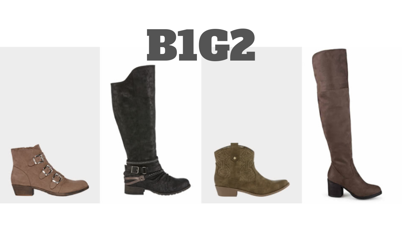JCPenney Sale: Buy 1, Get 2 Free Boots