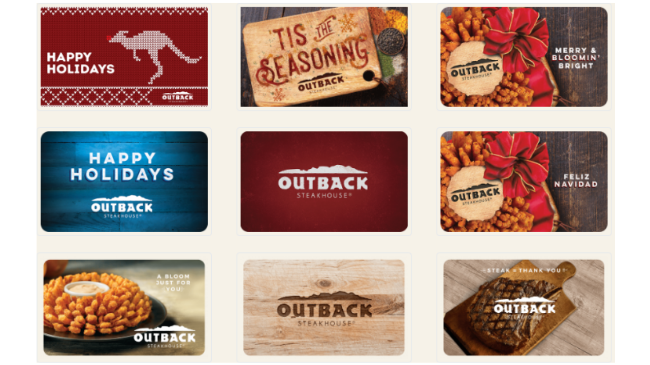 outback gift card deals free outback 20 gift card with 50 gift card purchase 3392