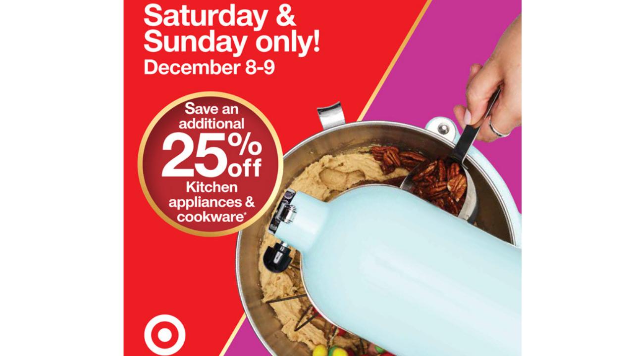 Target Deal | 25% Off Kitchen Appliances U0026 Bakeware
