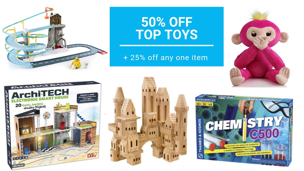 graphic relating to Barnes and Noble Printable Gift Card named 50% off Supreme Toys at Barnes Noble + 25% off Any Products Coupon