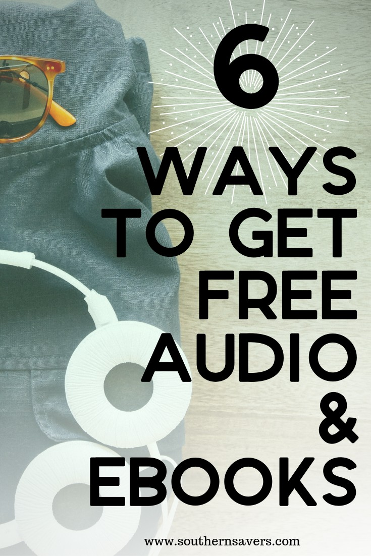 6 ways to get free audio and ebooks