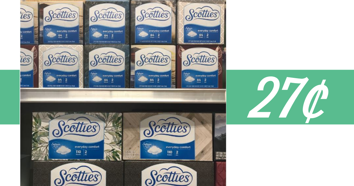 photograph relating to Scotties Tissues Printable Coupon identify Publix Offer Scotties Facial Tissues for 27¢ :: Southern Savers