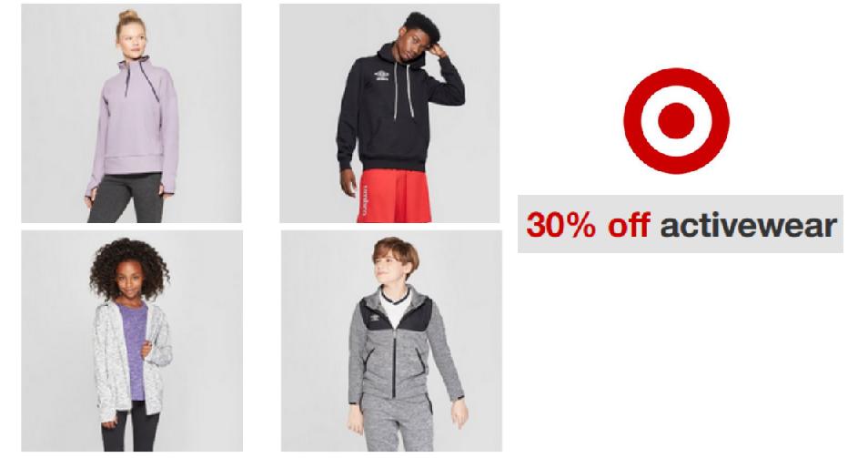 f4bad124635a Target Coupon Code | 30% Off Activewear :: Southern Savers