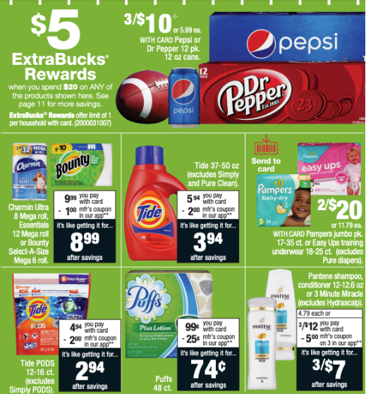 CVS Deal | Stock Up On Tide, Bounty & More :: Southern Savers