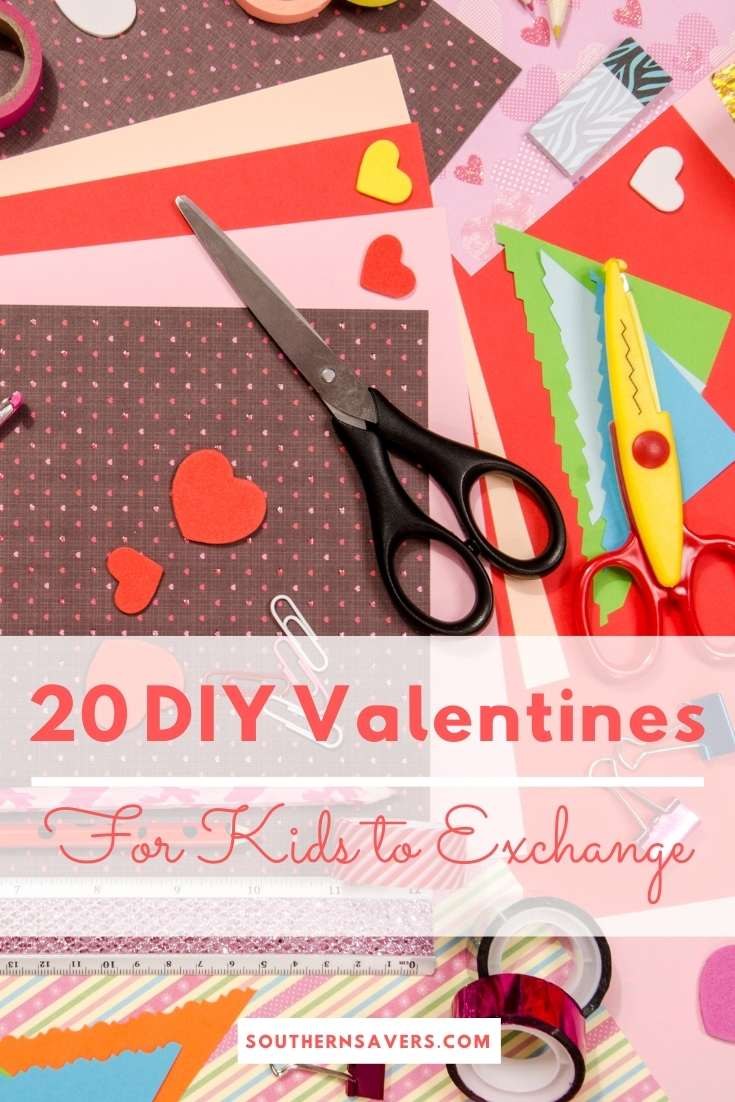 20 DIY Valentines for Kids to Exchange