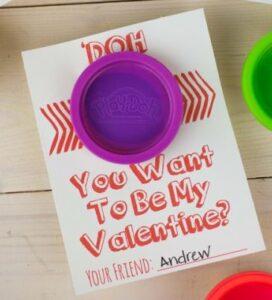 play doh valentine's
