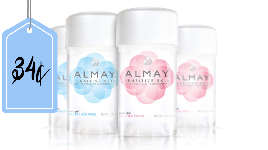 picture regarding Almay Coupon Printable identified as Almay Deodorant: 34¢ at Walmart! :: Southern Savers