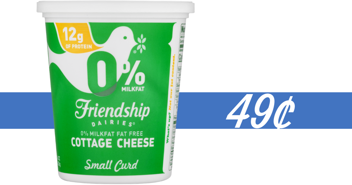 Fabulous Friendship Dairies Cottage Cheese For 49 At Publix Home Interior And Landscaping Fragforummapetitesourisinfo