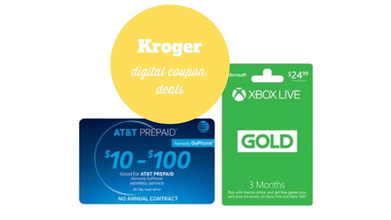 Kroger Digital Coupons | 200 Bonus Fuel Points & $10 off