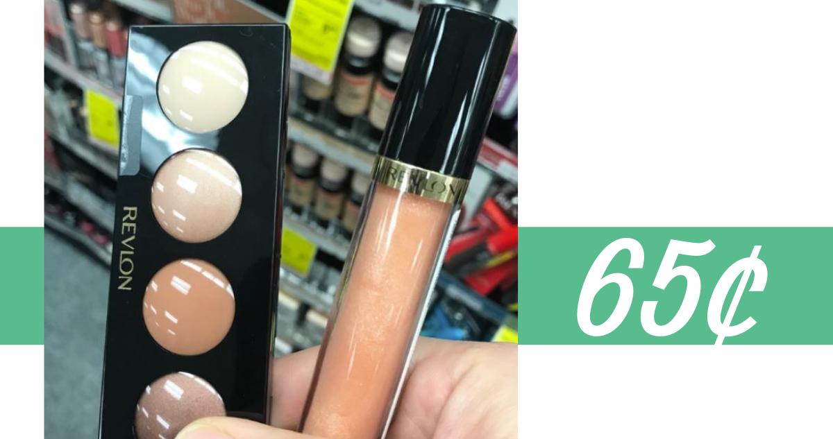 graphic regarding Revlon Printable Coupon called Revlon Discount codes Make-up for 65¢ at CVS Setting up Sunday