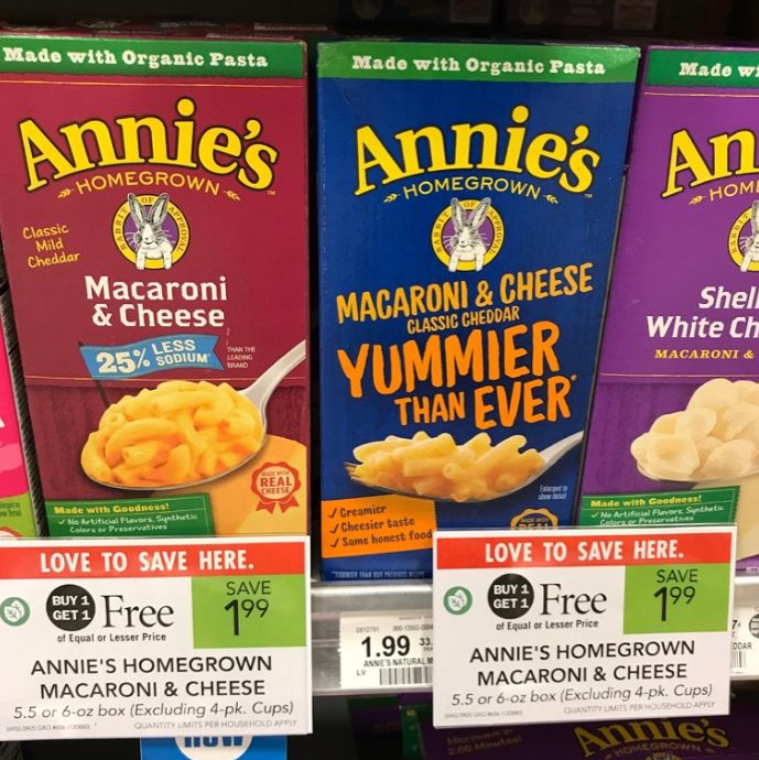 image relating to Cheddars Coupons Printable titled Annies Mac Cheese for 74¢ In opposition to Publix :: Southern Savers