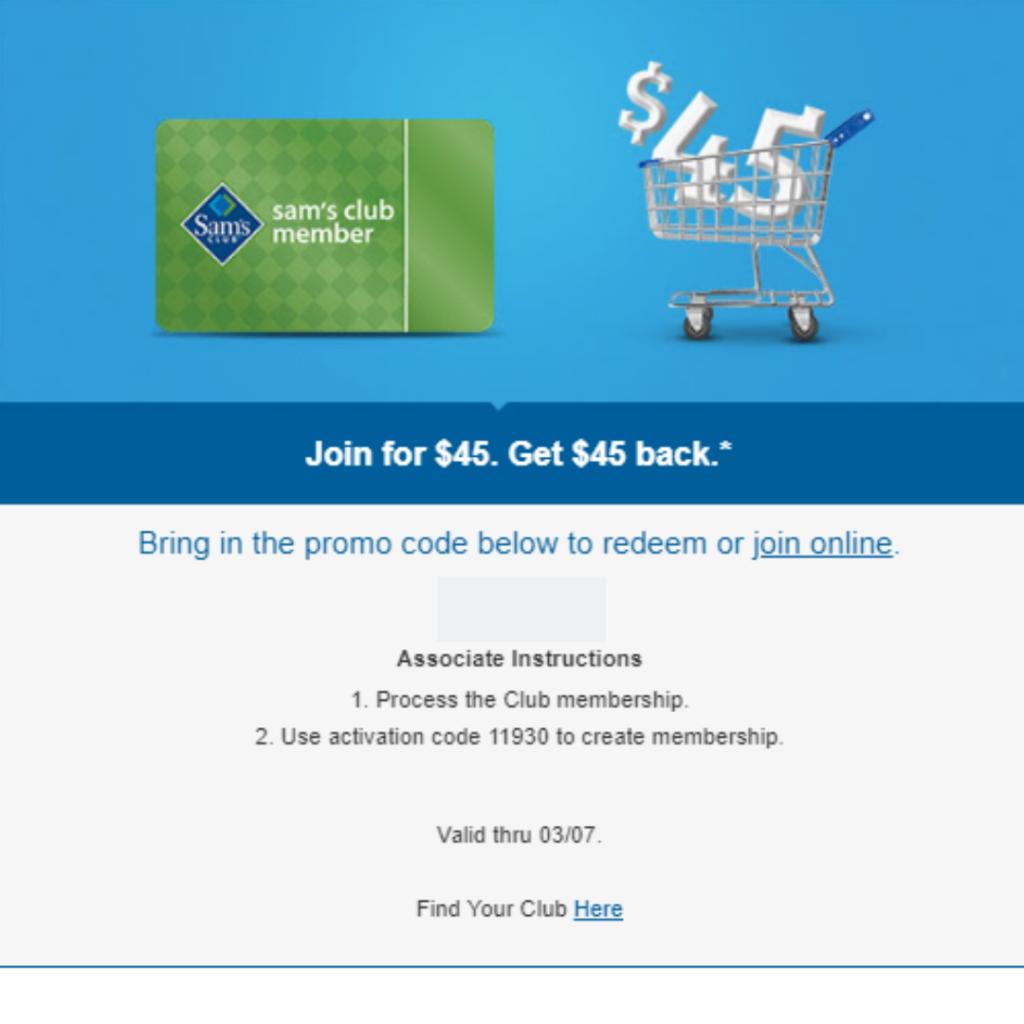 Last Chance Money Maker Sam S Club Membership Southern Savers